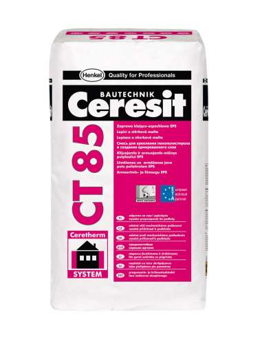 CT 85 Adhesive and reinforcing mortar EPS