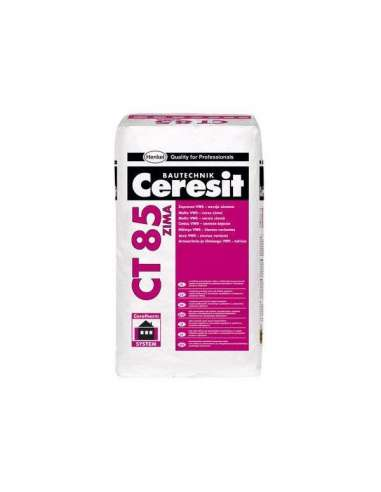 CT 85 Adhesive and reinforcing mortar EPS - Winter