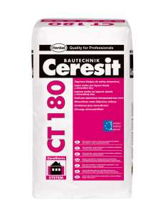 CT 180 Adhesive mortar for mineral wool
