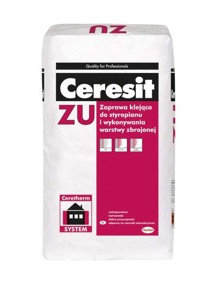 Ceresit ZU Adhesive for polystyrene and mesh