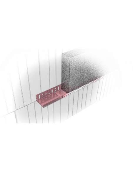 Base track aluminium 2.5mb